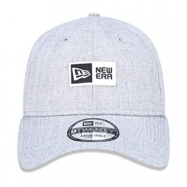 Boné New Era Aba Curva Strapback Core Label Grey