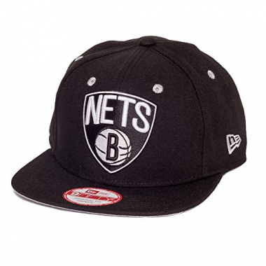 Boné New Era Snapback Original Fit Brooklyn Nets Preto - Nba