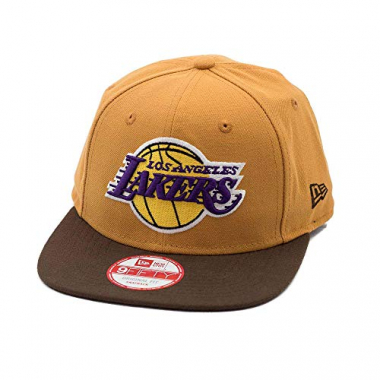 Boné New Era Snapback Original Fit Los Angeles Lakers Wheat - Nba