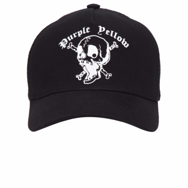 Boné Screamming Skull - Preto