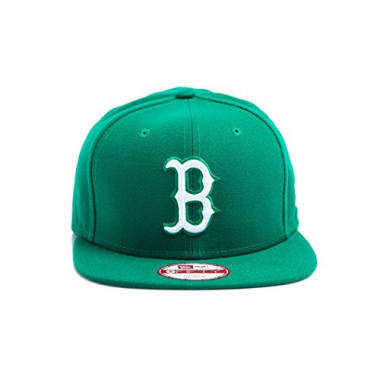 Boné Snapback New Era 950 Boston Red Sox Verde