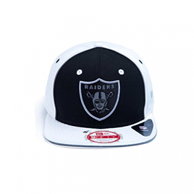 Boné Snapback New Era 950 Oakland Raiders Preto