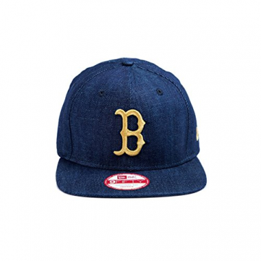 Boné Strapback New Era 950 Boston Red Sox Azul Marinho