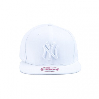 Boné Strapback New Era 950 Original Fit New York Yankees Branco