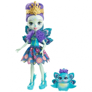 Boneca Fashion E Pet - Enchantimals - Patter Peaco-Feminino