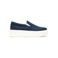 Boss Hugo Boss Tênis Slip On Jeans - Azul