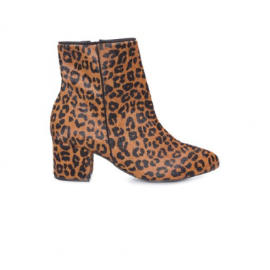 Bota Block Heel Animal Print Schutz – Animal Print