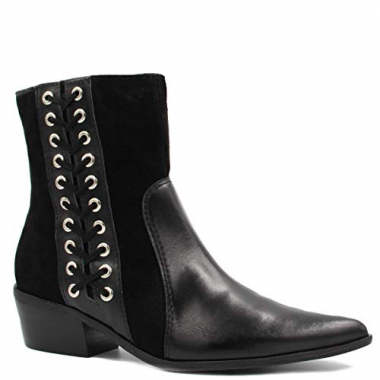 Bota Cano Curto Zariff Shoes Ankle Boot Nobuck