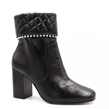 Bota Cano Curto Zariff Shoes Ankle Boot Zíper