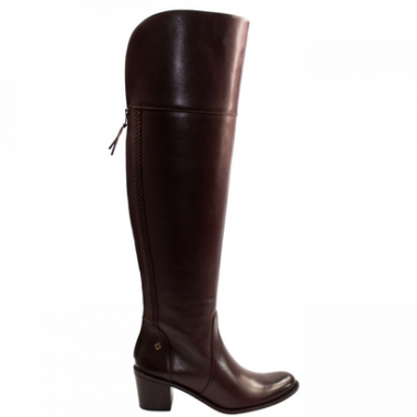 Bota Over The Knee Capodarte Couro Atanado Work 4011523-Feminino