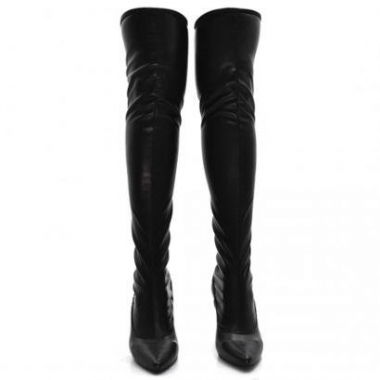 Bota Over The Knee Dududias10  Strech Feminina-Feminino