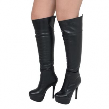 Bota Plataforma Over The Knee-Feminino