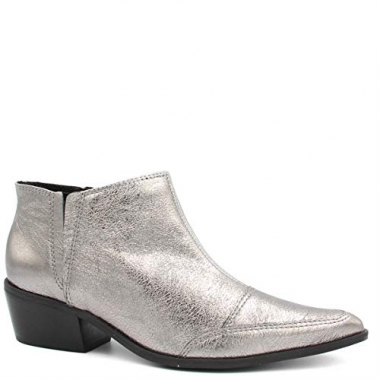 Bota Zariff Shoes Ankle Boot Couro