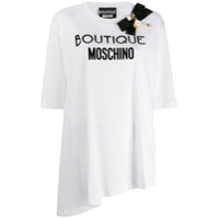 Boutique Moschino Bow Embellished T-Shirt - Branco