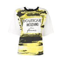 Boutique Moschino Boxy-Fit T-Shirt - Branco