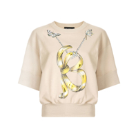 Boutique Moschino Blusa De Moletom Com Estampa Butterfly - Neutro