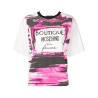 Boutique Moschino Camiseta Boxy - Branco