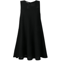 Boutique Moschino Vestido Godê Mini - Preto