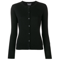 Boutique Moschino 'i Only Wear Cashmere' Cardigan - Preto