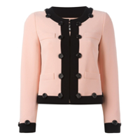 Boutique Moschino Jaqueta Cropped - Rosa