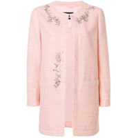 Boutique Moschino Jaqueta De Tweed - Rosa