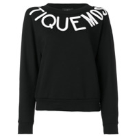 Boutique Moschino Moletom Estampado - Preto