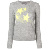 Boutique Moschino Stars Knit Sweater - Cinza