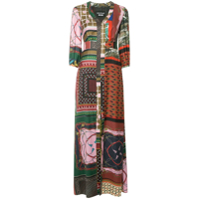 Boutique Moschino Vestido Com Patchwork - Estampado