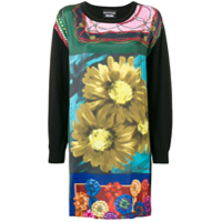 Boutique Moschino Vestido Estampado - Preto