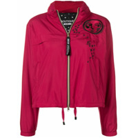 Boutique Moschino Zip-Up Moon Jacket - Vermelho