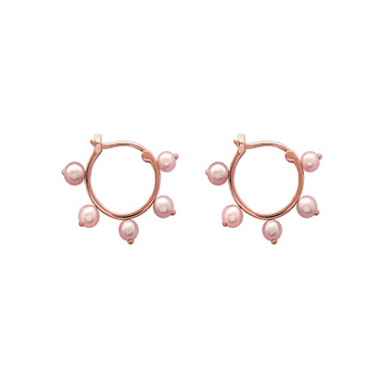 Brinco Argola Ouro Rose Julia Blini
