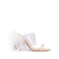 Brother Vellies Mule De Tiras Transparente - Branco