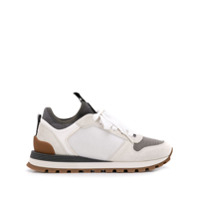 Brunello Cucinelli Ball-Chain Embellished Sneakers - Branco
