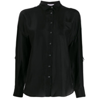Brunello Cucinelli Chest Pocket Shirt - Preto