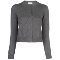 Brunello Cucinelli Concealed Buttonned Cardigan - Cinza