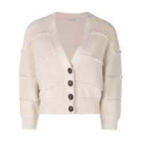 Brunello Cucinelli Cropped Button Cardigan - Neutro