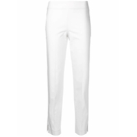 Brunello Cucinelli Calça Slim Cropped - Neutro