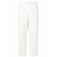 Brunello Cucinelli Cropped Trousers - Branco