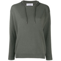 Brunello Cucinelli Draw-String Neck Jumper - Verde