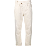 Brunello Cucinelli Embellished Cropped Trousers - Neutro