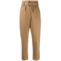 Brunello Cucinelli High-Waisted Trousers - Neutro