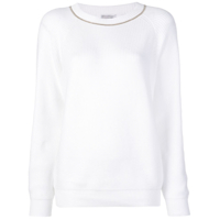 Brunello Cucinelli Longsleeved Sweater - Branco