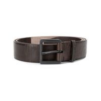 Brunello Cucinelli Metal Buckle Leather Belt - Marrom