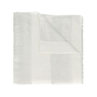 Brunello Cucinelli Panelled Long Scarf - Branco