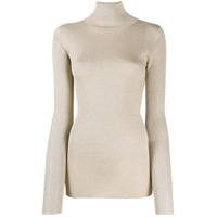 Brunello Cucinelli Roll Neck Sweater - Dourado