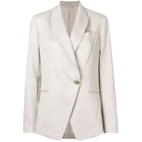 Brunello Cucinelli Single-Button Blazer - Neutro