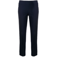 Brunello Cucinelli Slim Cropped Trousers - Azul