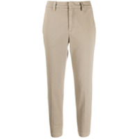 Brunello Cucinelli Calça Chino Slim Cropped - Neutro