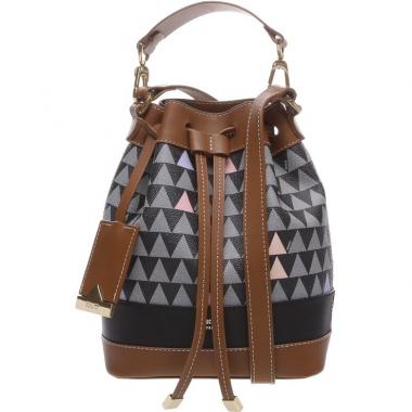 Bucket Bag Triangle Black | Schutz