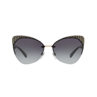 Bulgari Cat Eye Frame Sunglasses - Preto